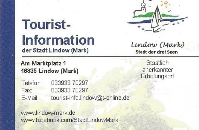 Tourist-Information Lindow(Mark)